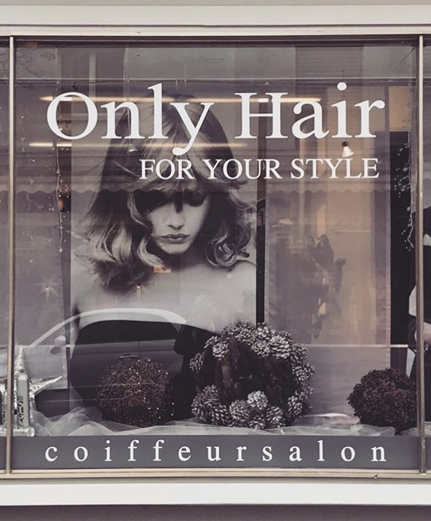 Schaufenster Only Hair